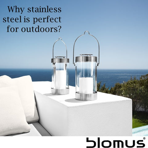 Why stainless steel is perfect for the outdoors?