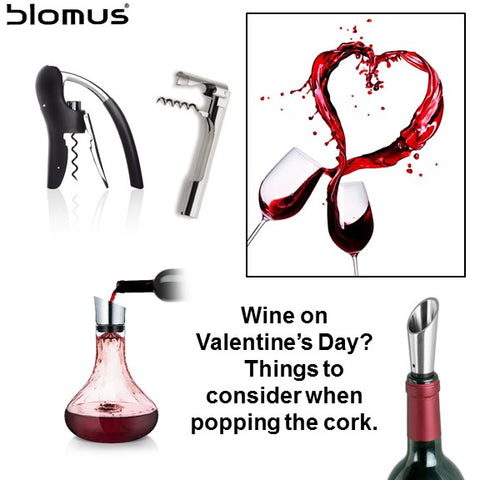 Popping the cork on Valentine's Day