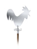 blomus stainless steel rooster weathervane