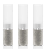 Tealight Holders - Concrete Base - Set of 3