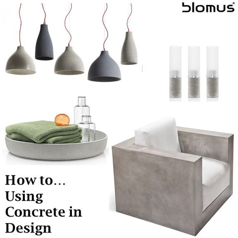 How To...Using Concrete in Design