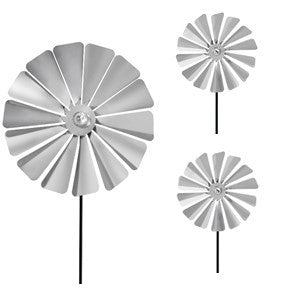 Pinwheel - Windmill Petals - 1 Large + 2 Small Set