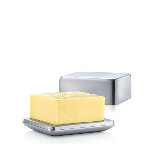 Stainless Steel Butter Dish - Medium