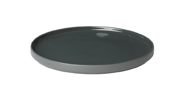 Dinner Plate 11 inch Set of 4 - PILAR Mirage Grey