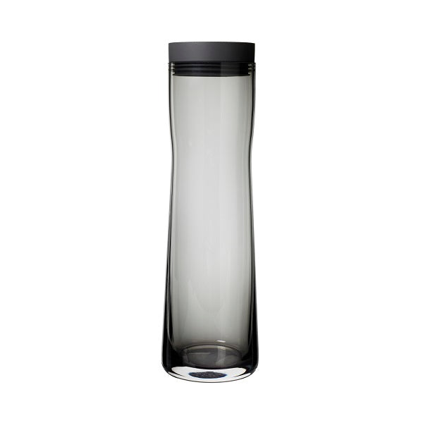 Water Carafe Smoked Glass 34 oz