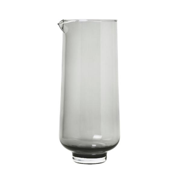 FLOW Glass Pitcher Smoke