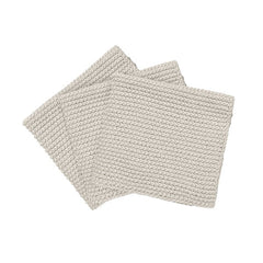 Knitted Dish Cloth Moonbeam