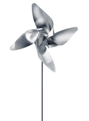 Pinwheel - Traditional 4 Petal - Large