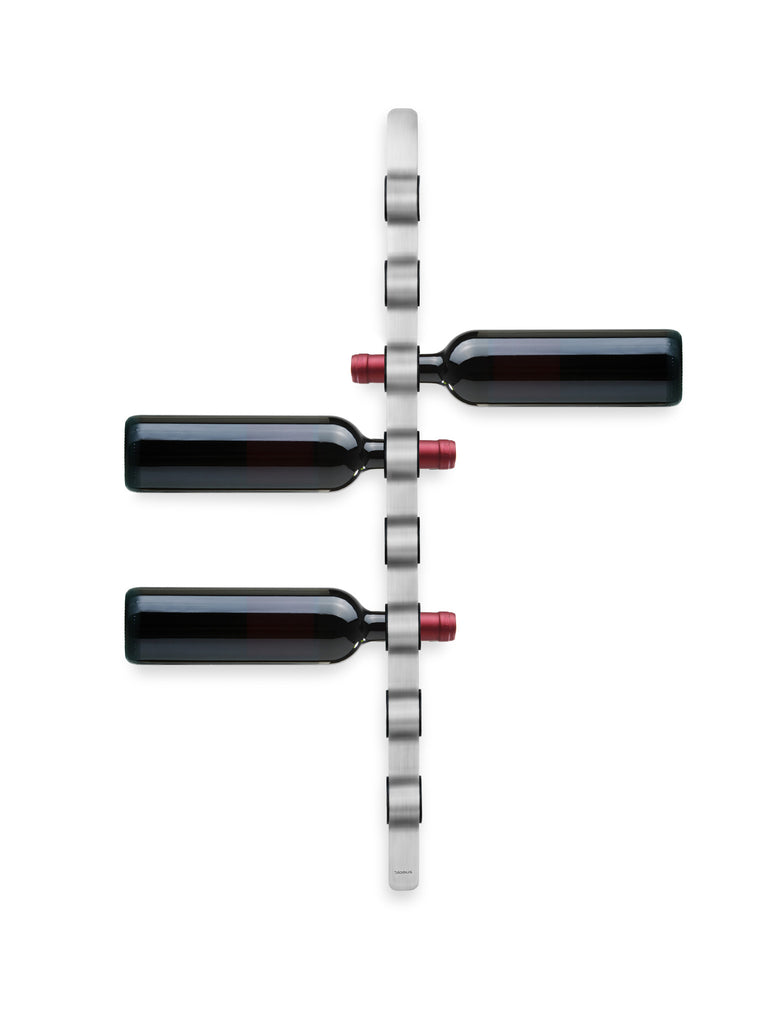 Stainless Steel Wall Mounted Wine Rack Blomus