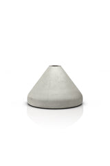 Outdoor Garden Torch Base - Concrete - Small