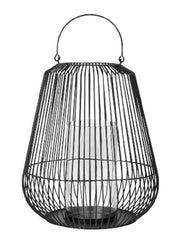 Decorative Lantern Small Black