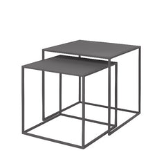 FERA Nesting Tables - Steel Grey