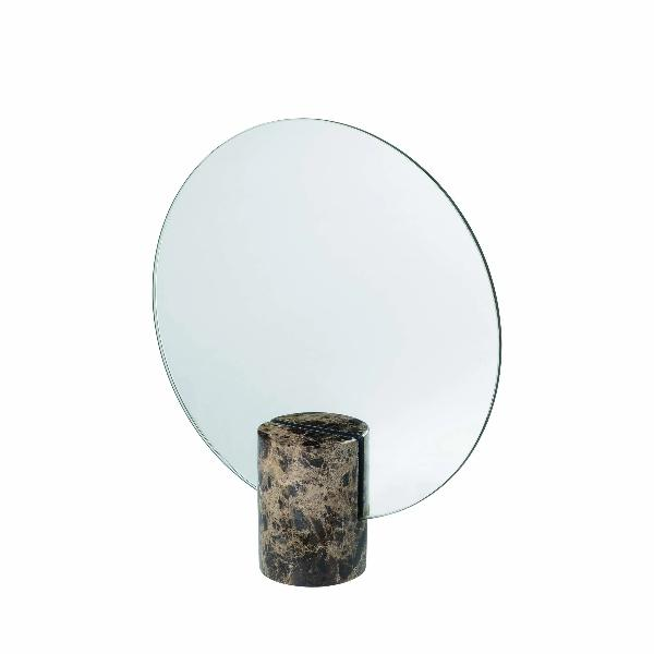 PESA Marble Table Mirror Brown