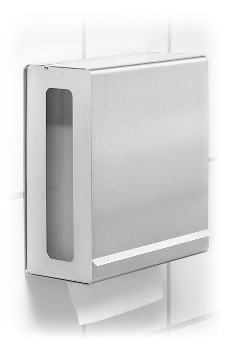 Wall Mounted Paper Towel Dispenser For C Fold Towels Blomus