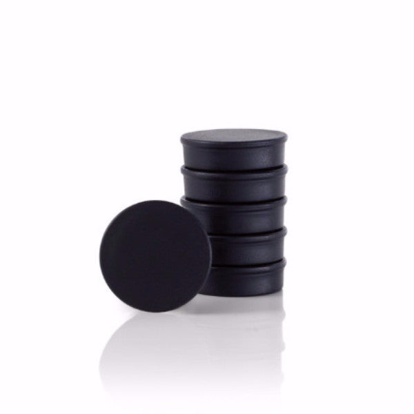 Magnets - Black (Set of 6)