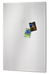 Magnetic Bulletin Board Perforated 30 x 45 Inches