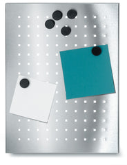 Magnetic Bulletin Board Perforated 12 x 15 Inches