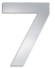 Stainless Steel House Number 7