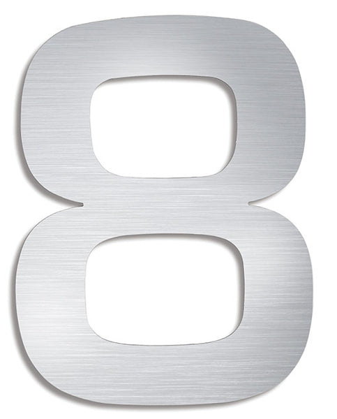 Stainless Steel House Number 8