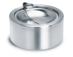 Stainless Steel Ashtray W/Dump Lid