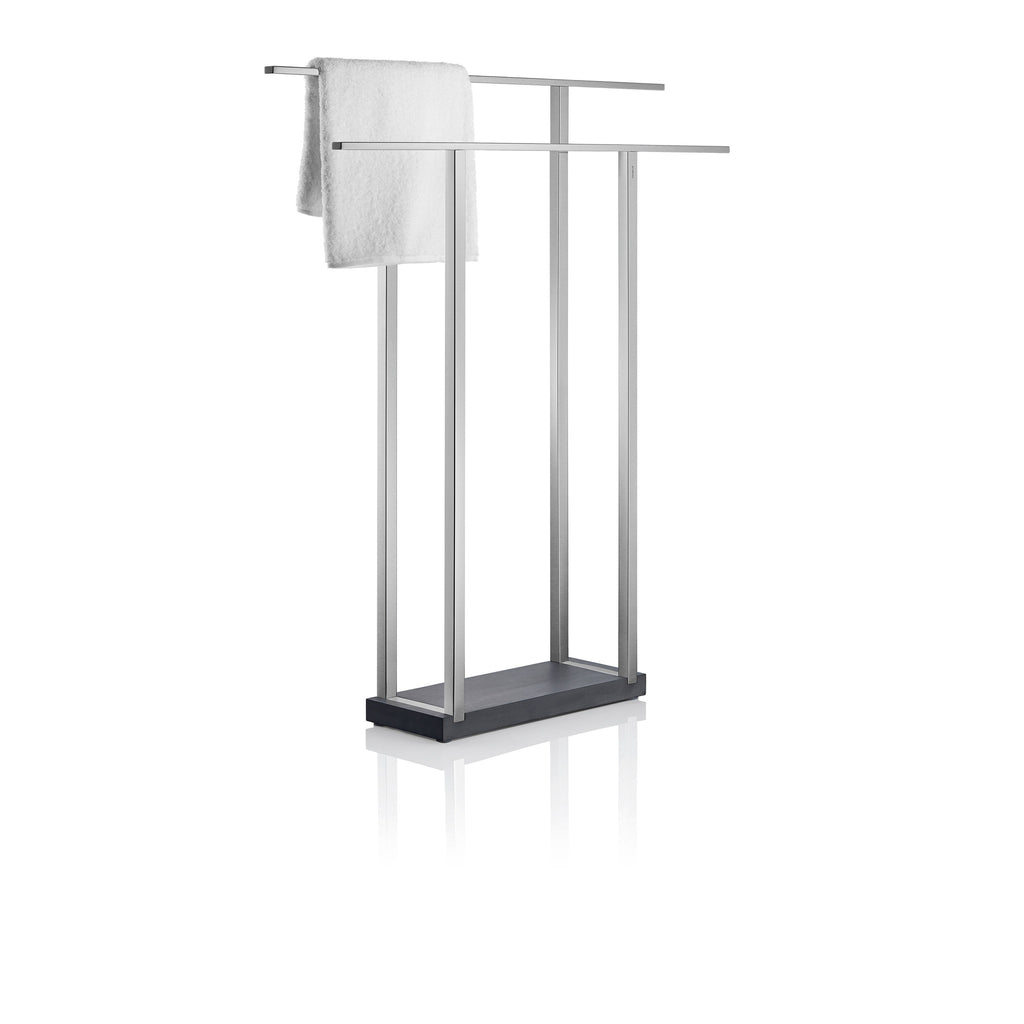 free standing towel rack  wide – blomus - free standing towel rack  wide