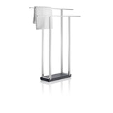 Free Standing Towel Rack - Wide - Polished