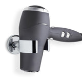 Wall Mounted Hair Dryer Holder - Polished - Areo