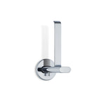 Wall Mounted Toilet Paper Holder - Vertical - Polished - Areo