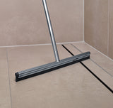 Squeegee with Long Handle - Polished - Wall Mount