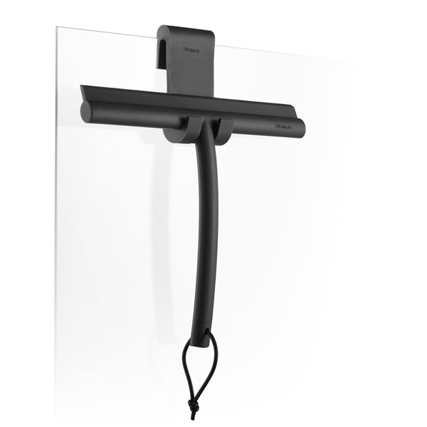 Shower Squeegee with Hanger - Black