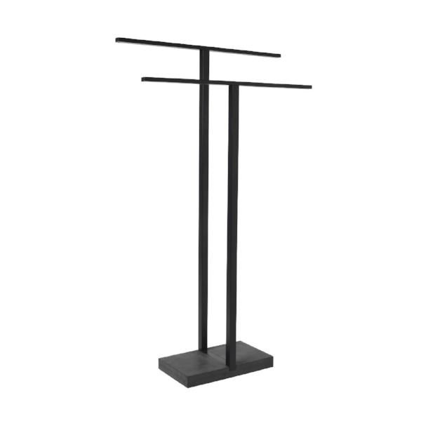 Free Standing Towel Rack - Black