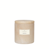 Scented Candle With Marble Container - Mora