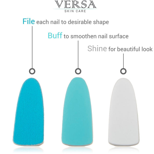 Premium Refill Pack compatible for Pedi Perfect Electronic Nail File, Versa Electric Nail File