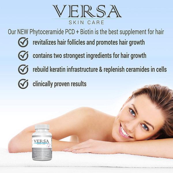 Phytoceramides + Biotin - Vitamins to stimulate for hair growth regeneration