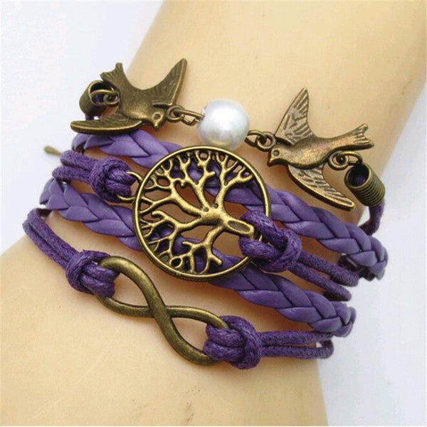 Vintage Multilayer Woven Rope Bracelet