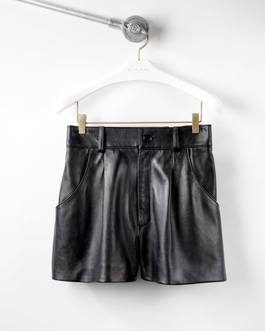 Eden Leather Shorts