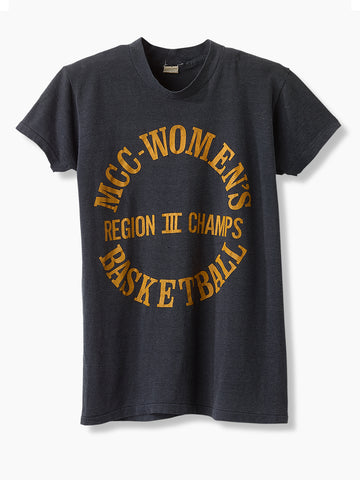 1980's Vintage Women's Basketball T-Shirt