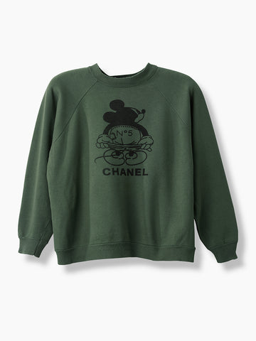 Vintage Bootleg Chanel No. 5 Sweater