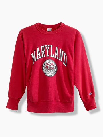 1980's Vintage Champion University of Maryland Sweater