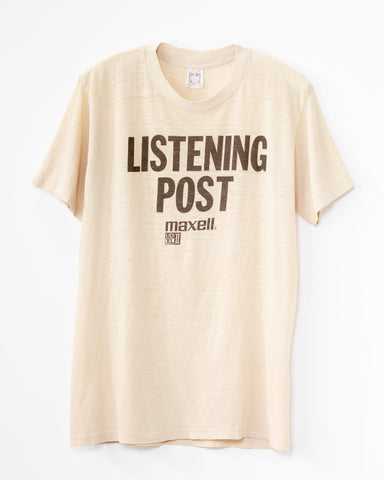 1980's Vintage Listening Post T-Shirt