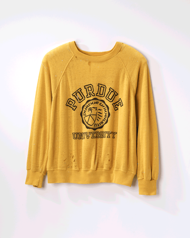 1980s Vintage Purdue University Sweater