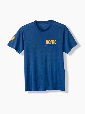 1986 Vintage ACDC North American World Tour T-Shirt