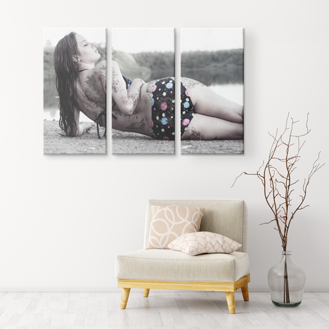 TIFF LAKE | 3 PIECE CANVAS