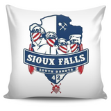 American Outlaws Sioux Falls Chapter 42 Pillow Cover