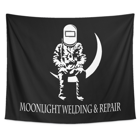 Moonlight Welding Tapestry