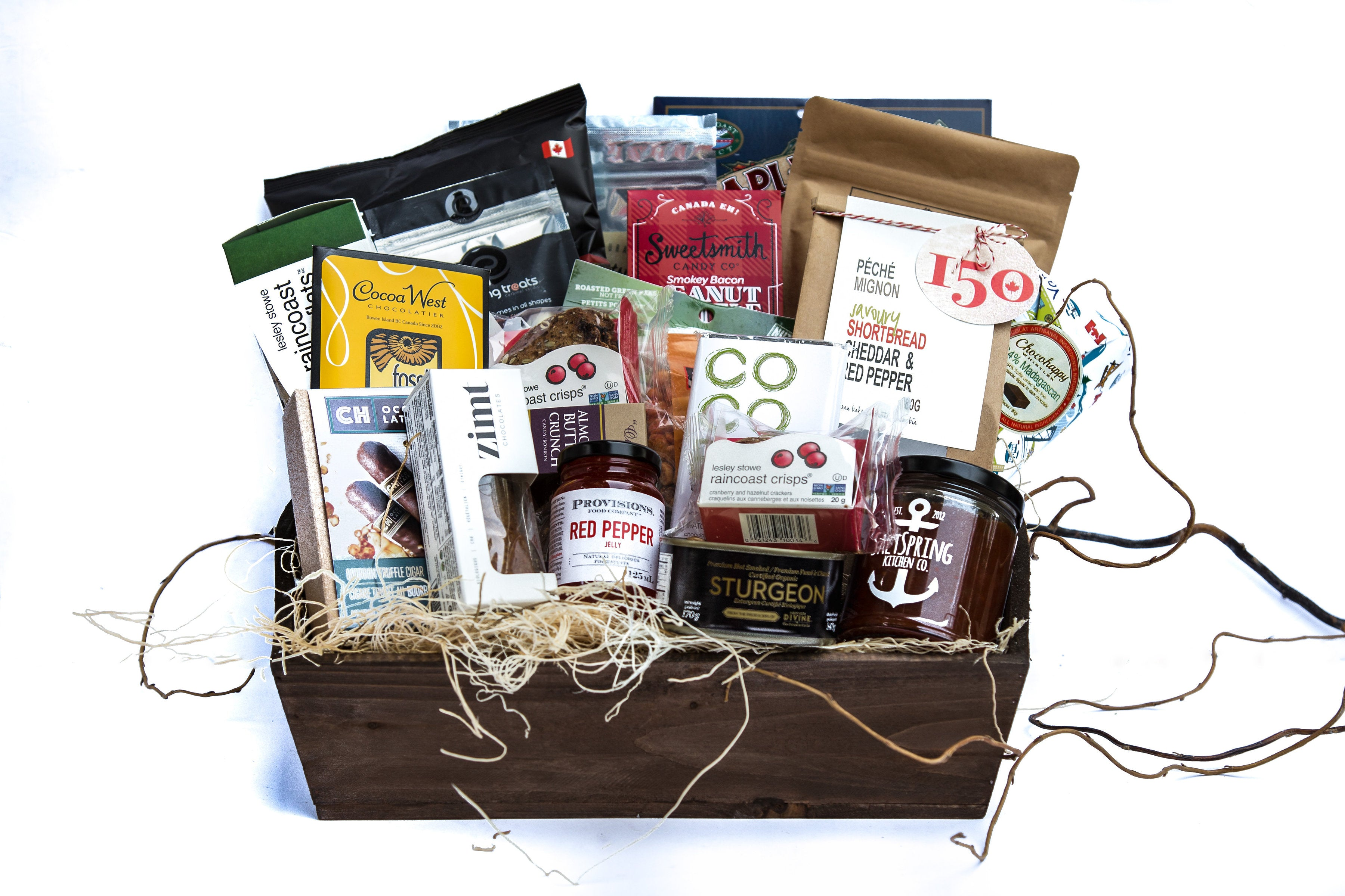 Office Party Gift Basket - Edible Canada