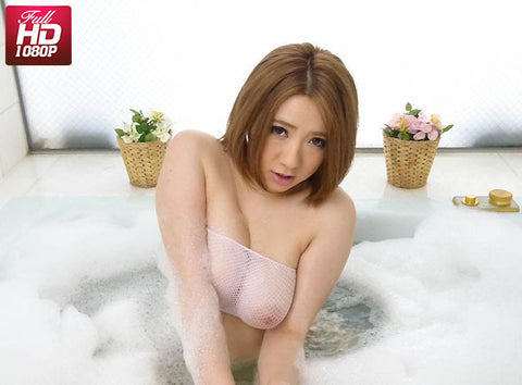 Busty J Slut Masturbate in Bath Tub Got Herself Twitch Orgasm - Alice Ozawa 小沢アリス (1080P HD)
