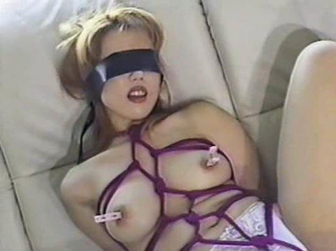 Bondage Busty Amateur (SD Video)