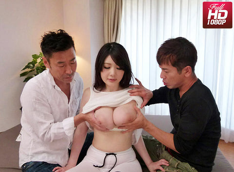 Busty OL Serve Both of Her Bosses Together, Sexually - Rie Tachikawa 立川理恵 (1080P HD)