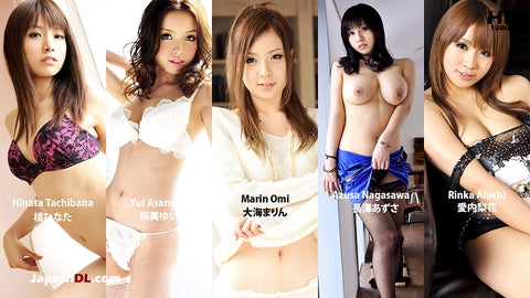 Mugen MKBD-S45-3 5 AV Idols with Huge Facial Cum 3 (1080P HD)